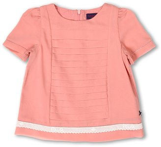Paul Smith Dina Blouse (Toddler/Little Kids) (Mid Pink) - Apparel