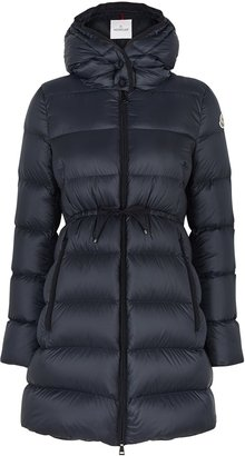 Moncler Bannec Navy Quilted Shell Jacket