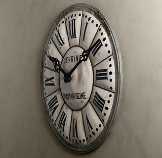Restoration Hardware 5-Foot French Tower Clock