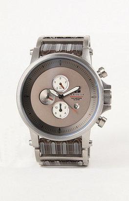 Vestal Plexi Acetate Silver Watch