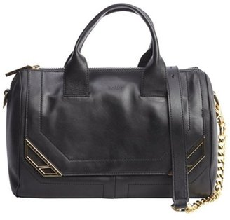 Botkier black leather 'Linea' satchel