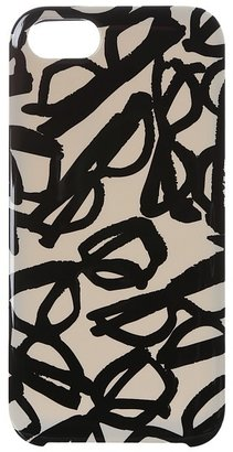 Kate Spade Literary Glasses Resin Case for iPhone 5 and 5s (Cream/Black) - Electronics