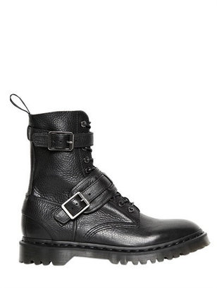 Dr. Martens Hammered Leather Boots