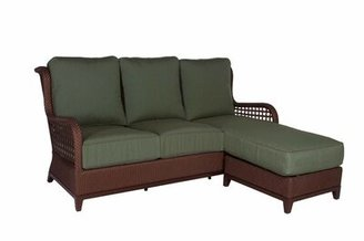 Acacia Home And Garden Aberdeen Chaise Lounge Sofa with Cushions Acacia Home and Garden