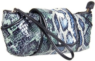 Kooba Cosmetic Case Wristlet (Cobalt) - Bags and Luggage