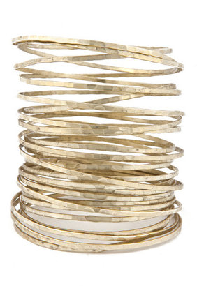 Citrine by the Stones Wire Bangle