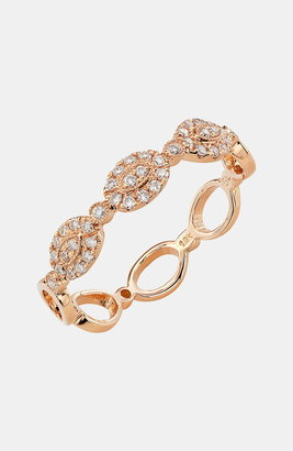 Bony Levy Oval Diamond Stackable Ring