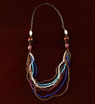 Gaiam Bali Tie Necklace