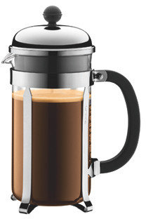 8-Cup Coffeemaker, Silver