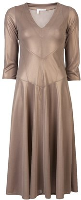 Derek Lam 10 Crosby By V-neck gown