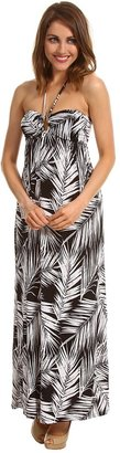 Type Z Vanda Maxi Dress (Black/White) - Apparel
