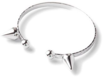 Lori's Shoes Open Bangle with Spikes