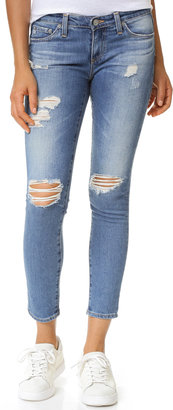 AG The Stilt Cigarette Jeans $215 thestylecure.com