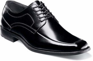 Stacy Adams Calhoun Mens Moc-Toe Leather Lace Oxford Dress Shoes