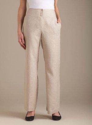 Chelsea & Theodore Linen Wide Leg Pant