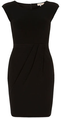 Dorothy Perkins Billie and Blossom Black drape skirt dress