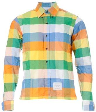 Thom Browne checked shirt