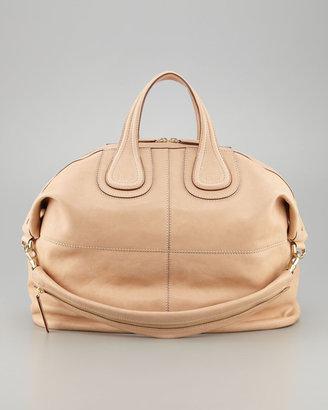 Givenchy Nightingale Zanzi Leather Satchel, Large