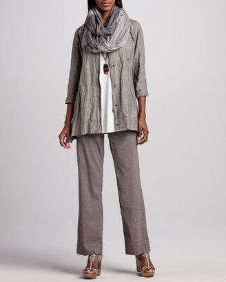 Eileen Fisher Silk Jersey Tunic