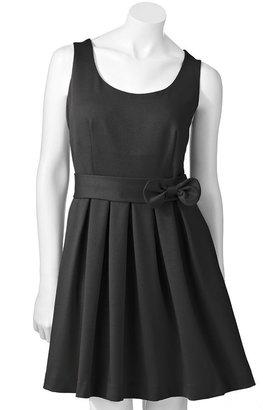 Lauren Conrad pleated ponte dress
