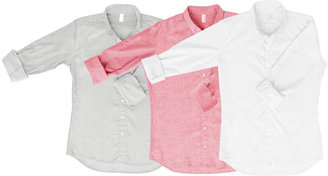 American Apparel Not-So-Perfect Unisex Long Sleeve Button-Up Grab Bag (3 Pieces)