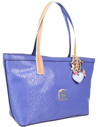 GUESS Frosted Carryall (Blue) - Bags and Luggage