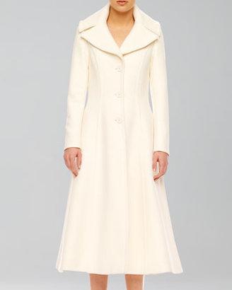 Michael Kors Wool Princess Coat