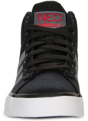 adidas Men's NEO SE Daily Vulc Mid Sneakers from Finish Line