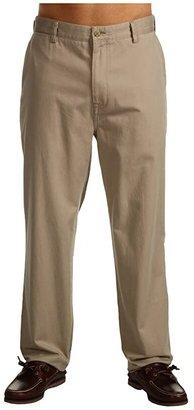 Nautica Big Tall True Flat Front Pant (True Black) Men's Casual Pants