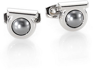 Salvatore Ferragamo Gem Night Cuff Links