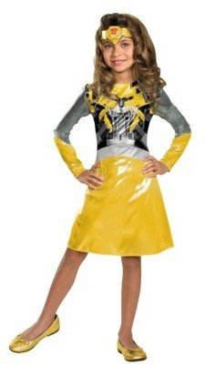 Bumble Bee Toddler/Girl's Transformers 3 Dark of the Moon - Bumblebee Costume
