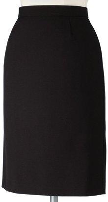 Sag Harbor slimming solution pencil skirt