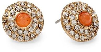 Juicy Couture Tinley Road Pavé Circle Stud Earring