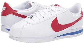 Nike Cortez Leather (White/Varsity Red/Varsity Royal) Men's Shoes