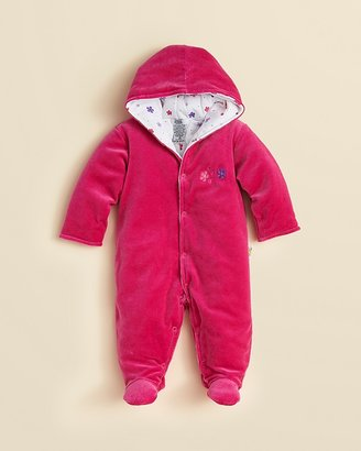 Noa Lily Infant Girls' Velour Floral Bunting - Sizes 3-9 Months