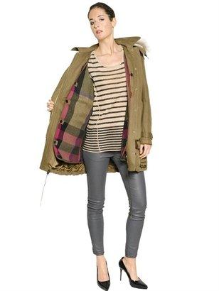 Burberry Dundee Cotton Gabardine Casual Jacket