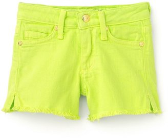 Juicy Couture Girls' Garment Dyed Shorts - Sizes 2-6