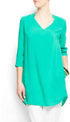 MANGO Tunic blouse