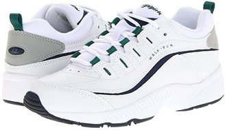 Easy Spirit Romy (White Multi Leather) Women's Walking Shoes