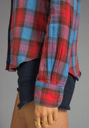 Joe's Jeans Plaid Button Down Shirt