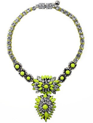 Shourouk Cora Zambia Yellow Necklace