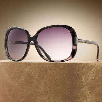 JLO by Jennifer Lopez greene oversized sunglasses