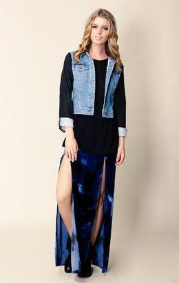 Blu Moon Two Slit Skirt