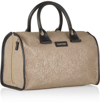 See by Chloe April small textured-leather duffle bag