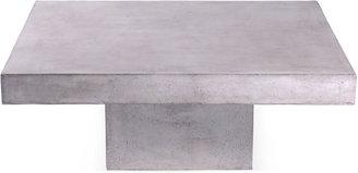Urbia Etta 44 Industrial Coffee Table, Silver