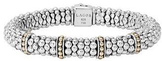 Women's Lagos 'Enso' Two-Tone Rope Caviar(TM) Bracelet $850 thestylecure.com