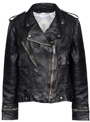 Golden Goose Leather outerwear