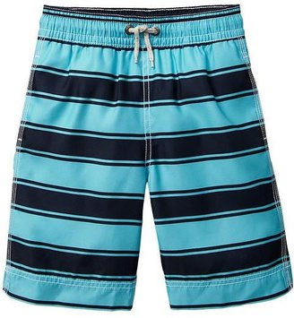 Gap Stripe swim trunks