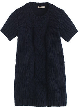 J.Crew Girls' cable-knit sweater-dress