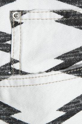 Etoile Isabel Marant Nea printed mid-rise boyfriend jeans
